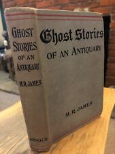 Ghost Stories of an Antiquary by MR James Arnold 1920 New Edition VG condition