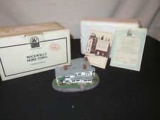 Norman Rockwell Figurine Rockwell'S Residence Building Landmark Sculptures (y838