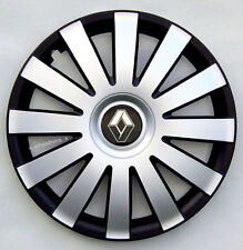 """Black/Silver  16"""" wheel trims to fit Renault Trafic ( SET OF 4)"""