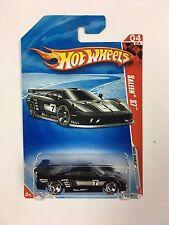 Hot Wheels Saleen S7 Black Race World (T-04)