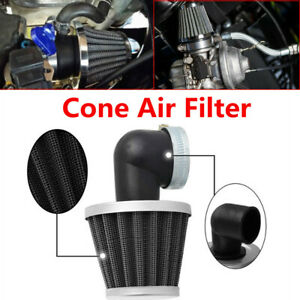 For 50cc-110cc Motorcycle Bike Carburetors 35MM 90 Degree Elbow Cone Air Filter