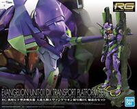 BANDAI Neon Genesis Evangelion RG Figure Eva Unit 01 DX EVA Transport Stand F/S