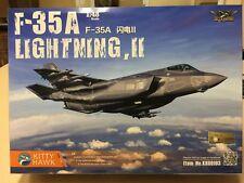 1/48 KITTY HAWK Model Lockheed Martin F-35A Lightning II with Photo Etch