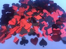 28-32g Poker night Casino Playing card diamond heart clubs spades Table Confetti