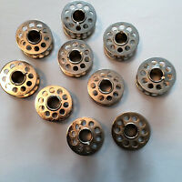 20 Metal Bobbins for Brother, for Singer Kenmore, New Home, Elna, Pfaff & More