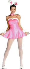 NEW Halloween Costume Women sz 6-12 Sexy Pink Cocktail Hunny Bunny 2 cute