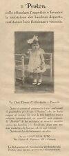 J0210 PROTON - Giuffrida Vito - Catania - Pubblicità del 1930 - Old advertising