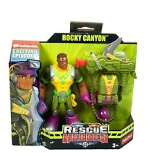 Fisher-Price Rescue Heroes Rocky Canyon 2018 New