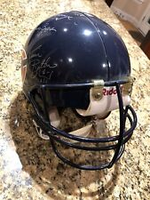 Vintage 1990's Signed Game Used Chicago Bears Helmet Singletary Zorich Harbaugh