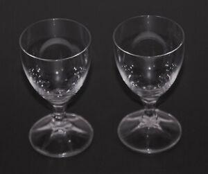 2 Schnapsläser Stiel Glas Zwiesel 5cl 50 ml 9,8 cm ∅ 5,3 cm 70er/80er