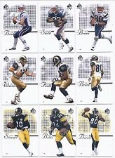 """2002 SP Authentic Football Cards """"PICK TEN"""" COMPLETE YOUR SET! CHOOSE ANY 10!!"""