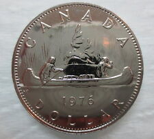 1976 CANADA VOYAGEUR DOLLAR PROOF-LIKE COIN