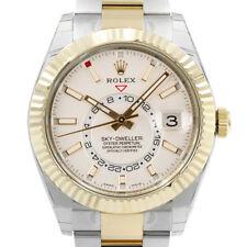 Rolex Sky-Dweller 326933 Men's Stainless Steel Automatic Cream 1 Year Warranty