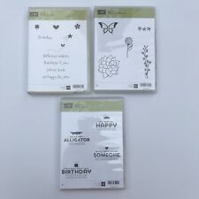 "Lot Of 3 New Stampin' Up! Sale-A-Bration Stamp Sets ""Natures Perfection ""."