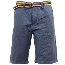 """Mid 7 to 13"""" Inseam Cotton Regular Striped Shorts for Men"""