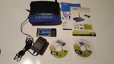 LinkSys Wireless-G Broadband Router WRK54G and Notebook Adapter WPC54G V.4 *FB*