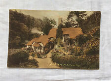 Vintage postcard : Somerset, Selworthy, cottage 1923-24, Frith Series
