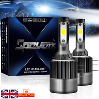 2X 110W 26000LM H15 LED Headlight Light Bulb Kit DRL Fog Light 6000K Plug&Play