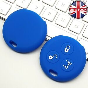 Car Key Fob Silicone Cover Case Rubber for Benz Smart City Roadster 3 Button