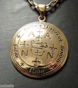 The SIGIL of the Archangel ZADKIEL Bronze Pendant  by Peter Stone