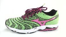 VEUC $120 MIZUNO WAVE SAYONARA 2 Womens SNEAKERS Shoes Green/Pink US 7 EU 37 **