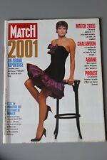 REVUE PARIS MATCH N°2001/1987 GRAND REPORTAGE LE 3 EME MILLENAIRE /ARIANE/PROUST