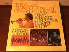 "THE CLASSIC TRUMPET CONCERTI OF HAYDN/HUMMEL Gerard Schwarz 12"" Vinyl LP Record"