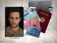 penn badgley you tv 003 carte identité grise permis passeport card holder