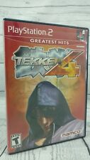 Tekken 4 Greatest Hits Red Label Playstation 2 PS2 Sony ~ Complete w/ Manual