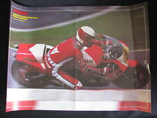 Poster Marlboro Yamaha YZR500 #4 Eddie Lawson (USA) (Folded)