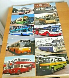 20 x Colour Photos - 6 x 4 prints Buses Operators in South East England No.2