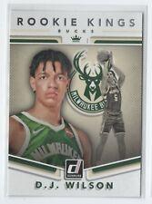 2017-18 Donruss Rookie Kings #17 - D.J. Wilson - Milwaukee Bucks