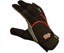 Draxxus Dxs Shank Tournament Paintball Gloves - Red Black - Xxl New
