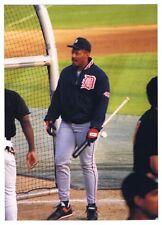 Cecil Fielder Vintage Baseball Photograph Detroit Tigers 1993 Baltimore Orioles