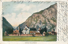 AK aus Eisenerz, Schloß Leopoldstein, Steiermark    (D5)