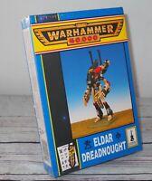 Warhammer 40K Eldar Dreadnought Citadel 1997 OOP NEW SEALED