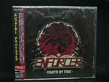ENFORCER Death By Fire + 1 JAPAN CD Alpha Tiger Skull Fist White Wizzard Wolf
