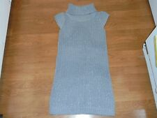 Cherokee gray and silver short sleeve sweater dress tunic size XL Back 2 School