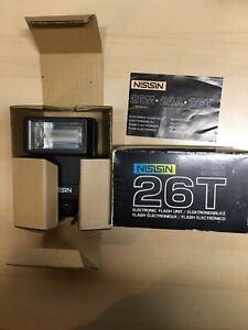 Vintage Nissin 26T Electronic Flash D10