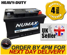 Numax 100 12V Car Battery - Fast Despatch - fits many Audi BMW Ford
