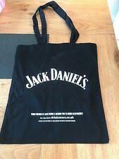 JACK DANIELS BLACK COTTON SHOPPING BAG  FROM 2016