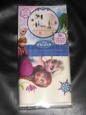 Disney Frozen 36 Wall Decals Room Decor Stickers Anna Elsa Kristoff Olaf NEW!