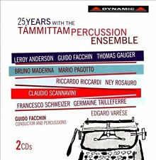 25 Years with the Tammittam Percussion Ensemble, New Music