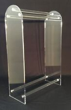 Clear Acrylic Large Free Standing Towel Rack