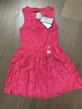 New Ralph Lauren Pink Lace Dress Size 5-6 Years