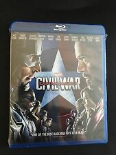 MARVEL CAPTAIN AMERICA(CIVIL WAR) BLU-RAY 2016 BRAND NEW