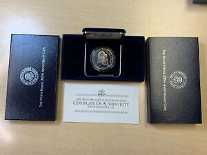 1992 Commemorative White House 200th Anniversary Proof Silver Dollar Coin w COA