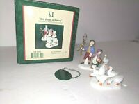 Dept 56 Heritage Cottage 12 Days of Dickens Village Six Geese A-Laying 58382