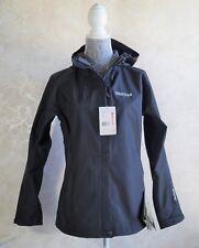 NEW Women's MARMOT Optima Hoody Jacket BLACK 93770 Size L MSRP $225