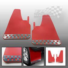 Red Race/Racing Rally Car Performance Universal Mudflaps/Mud Flaps pair custom